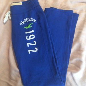 Skinny Hollister Logo sweats XS
